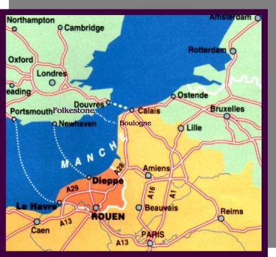 Carte Angleterre Le Kent.Voyage En Grande Bretagne Le Kent Et Le Sussex